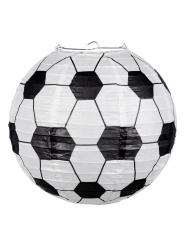 Papieren lantaarn voetbal