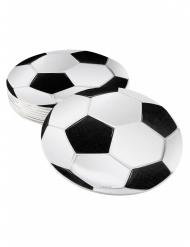 6 onderzetters met voetbal