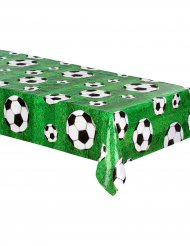 Plastic voetbal tafelkleed