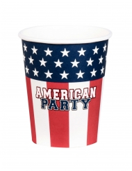 12 American party servetten