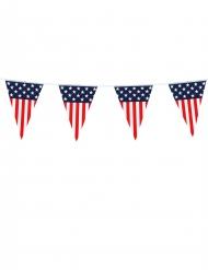 Slinger met Amerikaanse vlag