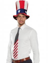 Amerikaanse vlag stropdas voor volwassenen