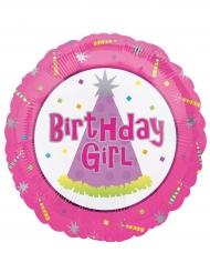 Birthday girl folie ballon