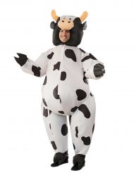 Opblaasbaar koeienkostuum voor volwassenen