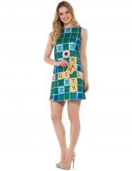Miss Scrabble™ kostuum voor vrouwen