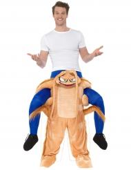 Carry me kakkerlak kostuum voor volwassenen