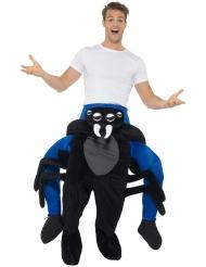 Man op de rug van een spin kostuum voor volwassenen