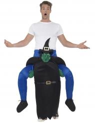 Heksen carry me kostuum voor volwassenen