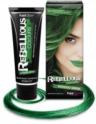 Semi permanente haarverf groen 70 ml