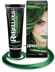 Semi permanente haarverf groen 70 ml