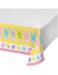 Plastic konijnen tafelkleed