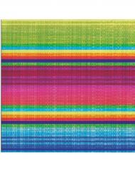 16 papieren servetjes poncho
