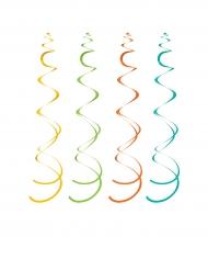 10 kleurige ophang spiralen