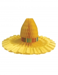 Tafelstuk hoed van stro