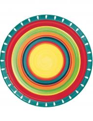 8 kartonnen Mexicaanse borden