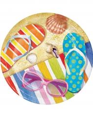 8 kleine strand borden