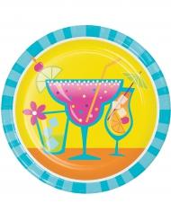 8 kleine cocktail borden