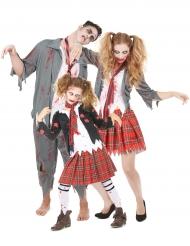 Zombie familie groepskostuum