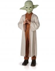 Luxe Yoda Star Wars™ kostuum met masker voor kinderen