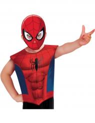 Spiderman™ t-shirt en masker voor kinderen