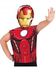 Marvel Iron Man™ t-shirt en masker voor kinderen
