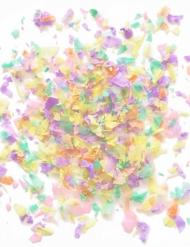 Klein zakje pastelkleurige confetti 50 gr