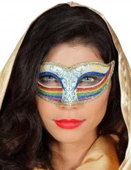 Regenboog oogmasker voor vrouwen