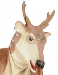 Latex kerst rendier masker
