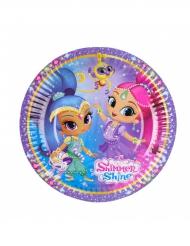 8 kleine Shimmer & Shine™ bordjes