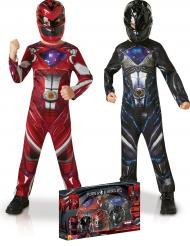 Zwart en Rood Power Rangers™ kostuum pack voor kinderen