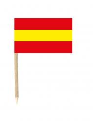 Set van 50 Spaanse vlag prikkers