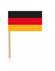 Set van 50 Duitsland vlaggen prikkers