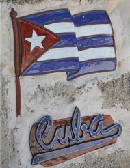 Cuba muurdecoratie