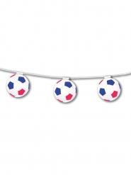 Voetbal slinger rood wit blauw