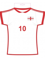 Kartonnen Engeland t-shirt cut out