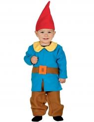 Tuinkabouter kostuum voor baby