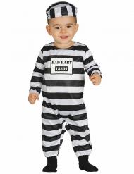 Gevangene kostuum voor baby