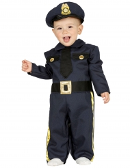 Politie agent kostuum voor baby
