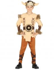 Beige viking kostuum voor jongens