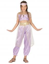 Paars woestijn prinses kostuum voor meisjes