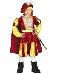 Velours koningskostuum voor jongens