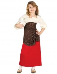 Middeleeuwse taverne outfit voor meisjes