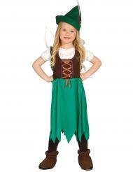 Woud meisje kostuum voor kinderen