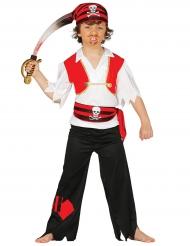 Patch piraten kapitein kostuum voor kinderen