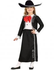 Traditioneel Mexicaans kostuum voor meisjes