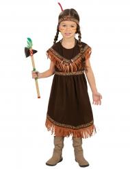 Bruin indianen kostuum voor meisjes