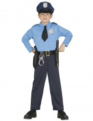 Gespierd politie agent kostuum voor jongens