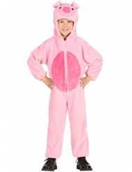 Roze varken kostuum voor kinderen