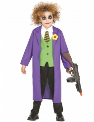 Eng joker clown kostuum voor kinderen