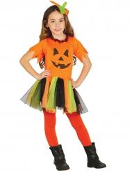 Kleurrijke tutu pompoen kostuum voor meisjes